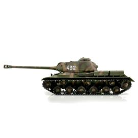 1/16 RC IS-2 1944 tank in camo (BB  of IR uitvoering)