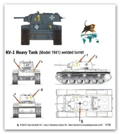 EP 2400 KV 1 Model 1941, 8. PD Russland 1942