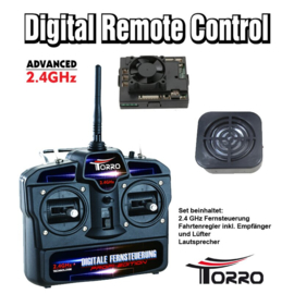 Remote Control Set 2.4 GHz Torro