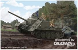 Trumpeter Sowjetischer Jagdpanzer SU-100