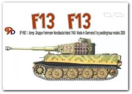 EP 0980 Tiger I 1. Komp. Gruppe Fehrmann