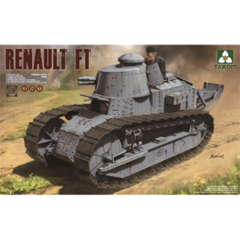 Takom: French Light Tank Renault Ft-17 3in1 in 1:16