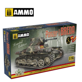 1/16 Kit Panzer I Ausf. A Breda Item number: 2414298503