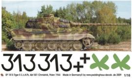 EP 1815 Tiger II 3./s.SS Pz Abt 501 Chmielnik 1944