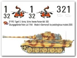 EP 0993 Tiger II 3. Komp. schw. Heeres Pz Abt 505