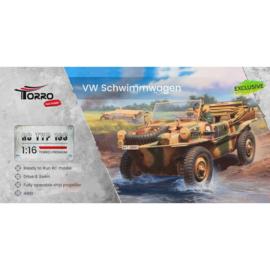 1/16 RC VW Schwimmwagen T166 grijs