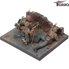 1/16 WWII German MG34 Team