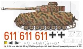 EP 2280 Panzer IV Ausf. H Hitlerjugend, Ungarn 45
