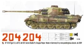 EP 1818 Tiger II 2./s.SS Pz. Abt 501 Uscha Stadler