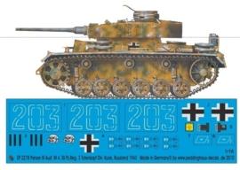 EP 2278 Panzer III Ausf.M 4.SS Pz.Reg. 3 Totenkopf, Kursk 1943