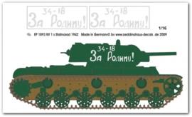 EP 1893 KV 1 s Stalingrad 1943