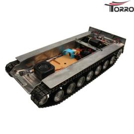 Leopard 2A6 ongespoten metalen onderbak incl. elektronica