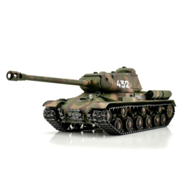 1/16 RC IS-2 1944 tank in camo (BB  of IR uitvoering)