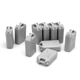 Sol Model  1/16 Figure Kit Accessories Bundeswehr Jerry Cans Set (10 pcs.)