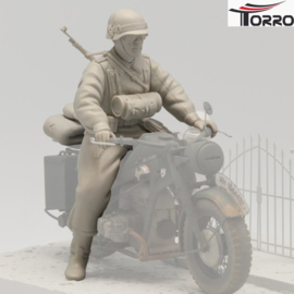 1/16  Figure German Motorcycle Trooper 1
