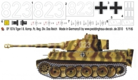 EP 1076 Tiger I , 8. Komp. Das Reich