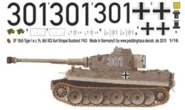 EP 1865 Tiger I s. Pz. Abt 503 Kurt Knispel