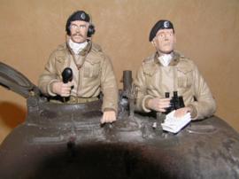 1/16 Britse tankbemanning (2 figuren)