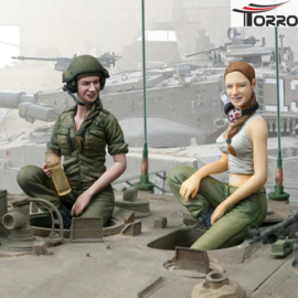 1/16 IDF Female Tank Crew Set