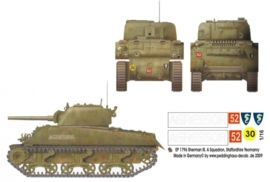 EP 1796 Sherman III A Squadron Staffordhire Ye&