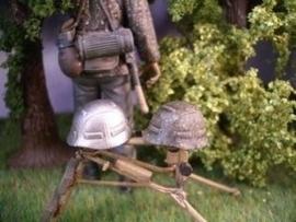 SA012. Duitse helm camo