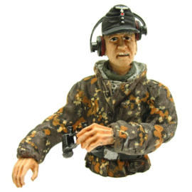1/16 Figure Tank Commander Summer Camouflage Half Figure