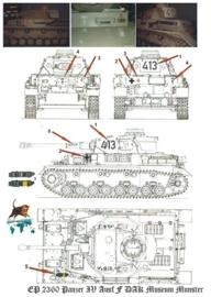 EP 2360 Panzer IV DAK Museum Munster schaal 1:16