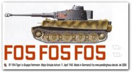 EP 1594 Tiger I Ausf. E Gruppe Fehrmann