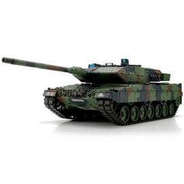 1/16 RC Leopard 2A6 camo BB+IR (Metal Tracks)