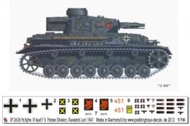 EP 2638 Panzer IV Ausf.F 5.Pz. Div