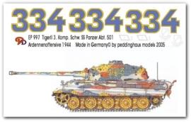 EP 0997 Tiger II 3. Kom. schw. Heeres Pz Abt. 501