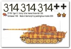 EP 0998 Tiger II 3. Kom. schw. Heeres Pz Abt 506