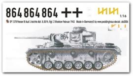 EP 1378 Panzer III Ausf. J leichte Abt. 8.SS Pz.Regt.