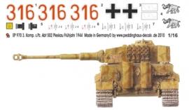 EP 0970 Tiger I 3. Komp. schw. Heeres Pz Abt. 502 Kurland
