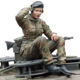 1:16 vrouwlijke Bundeswehr tankschutter
