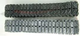 Pershing M-26 metalen tracks met metalen aandrijfwielen H-L