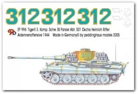 EP 0996 Tiger II 3. Komp. schw. SS Pz Abt 501
