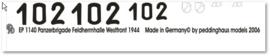 EP 1140 Panther Panzerbrigade Feldherrnhalle Westfront 1944