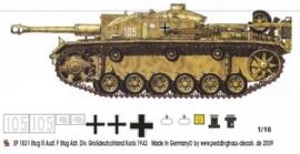 EP 1831 Stug III Ausf F Div Grossdeutschland