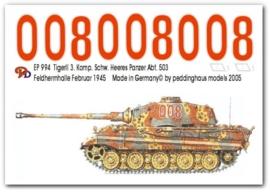 EP 0994 Tiger II 3. Komp. schw. Heeres Pz Abt. 503