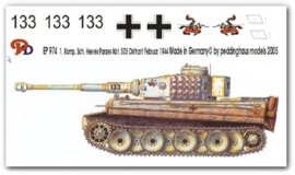 EP 0974 Tiger I 1. Komp. schw. Heeres Pz Abt 505