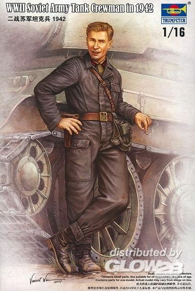 WWII Russische tanksoldaat 1942