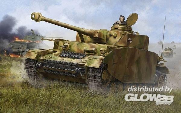Trumpeter: German Pzkpfw IV Ausf.H Medium Tank in 1:16 [9360920]