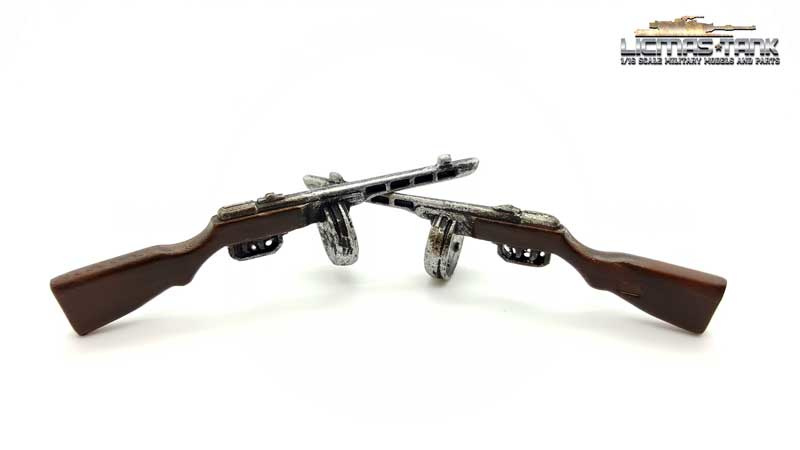 PPSh-41 machine gun 2. World War in scale 1:16