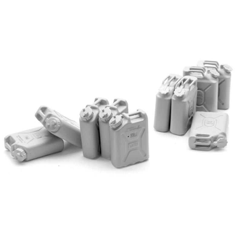 1/16 Figure Kit Accessories U. S. Jerry Cans Set (10 pcs.)