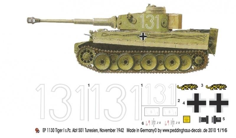 EP 1130 Schwere Heeres Pz Abt 501 Tiger Tunesien 1942