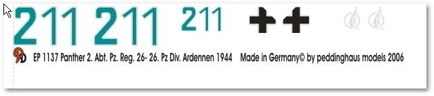 EP 1137 Panther 2. Abt Pz Reg. 26 26. Pz Div Ardennen 1944