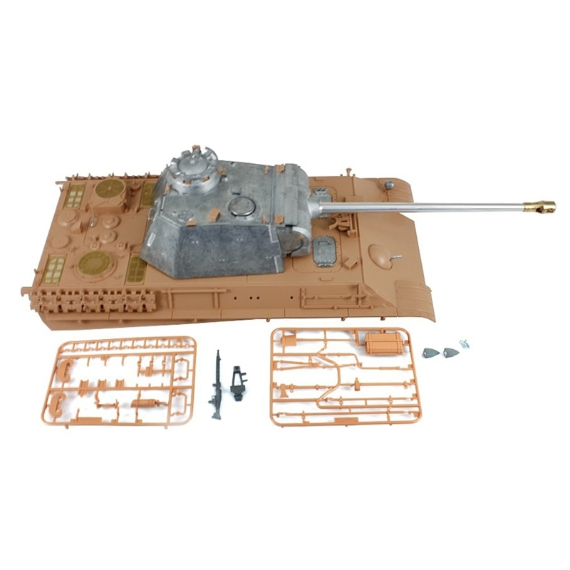 Panther G bovendek met metalen koepel en Taigen recoil system