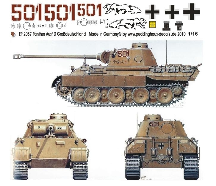 EP 2087 Panther Ausf D Div.Großdeutschland