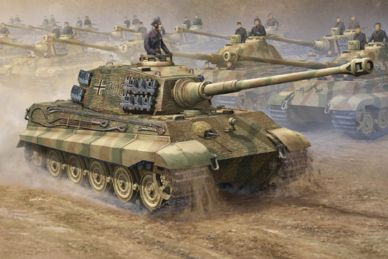 Trumpeter: German King Tiger 2 in 1 in 1:16 [9360910]